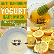 yogurt hair mask recipes beautiful