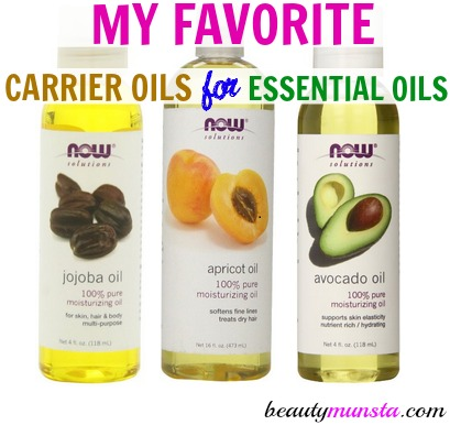 My Favorite Carrier Oils For Essential Oils Beautymunsta