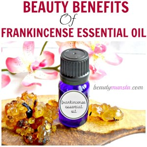 Beauty Benefits of Frankincense Essential Oil