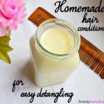 Detangle Easier with this DIY Shea Butter Hair Conditioner