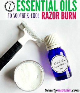 7 Soothing Essential Oils for Razor Burn Relief
