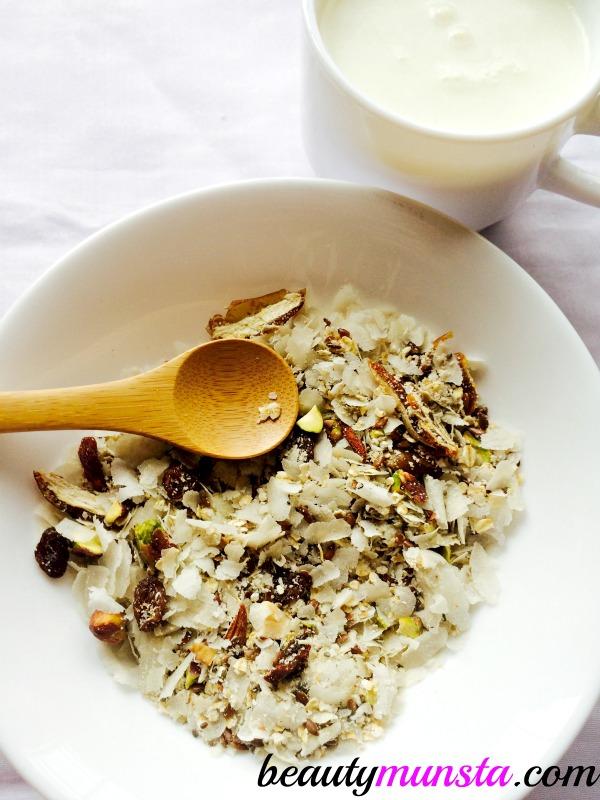 Enjoy a healthy gluten-free cereal