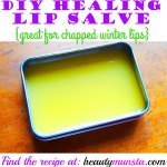 Homemade Healing Lip Salve Recipe