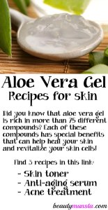 DIY Aloe Vera Gel Recipes for Beautiful Skin