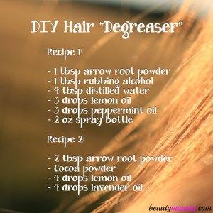 DIY Natural Hair Degreaser – 2 Recipes