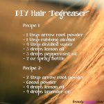 DIY Natural Hair Degreaser – 2 Recipes