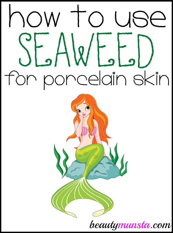 how to use seaweed for skin