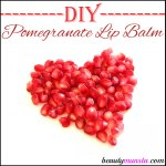 DIY Pomegranate Lip Balm