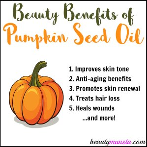 9 Beauty Benefits of Pumpkin Seed Oil for Skin, Hair & Nails
