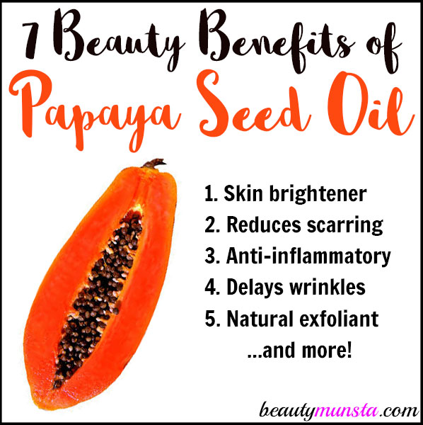 Discover the beauty benefits of papaya seed oil for skin & more in this post!