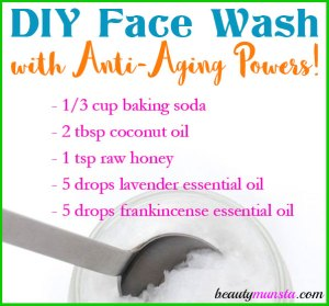 DIY Anti-Aging Face Wash Recipe