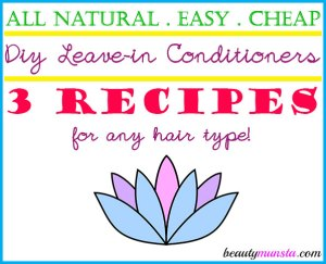 3 DIY Leave-in Conditioner Recipes for Silky Hair