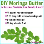 DIY Moringa Butter for Skin & Hair