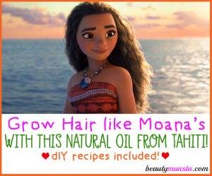 Tamanu Oil Benefits for Hair | How to Grow Moana Hair