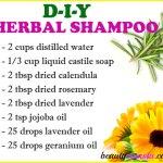DIY Herbal Shampoo Recipe for Healthy Hair
