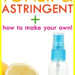 Difference between Toner and Astringent