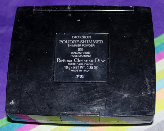 Dior Shimmer Powder Rose Diamond