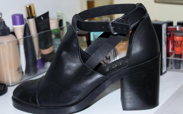Office Black Boots