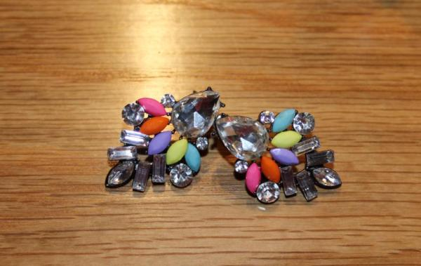 Bohoo multicolour earrings