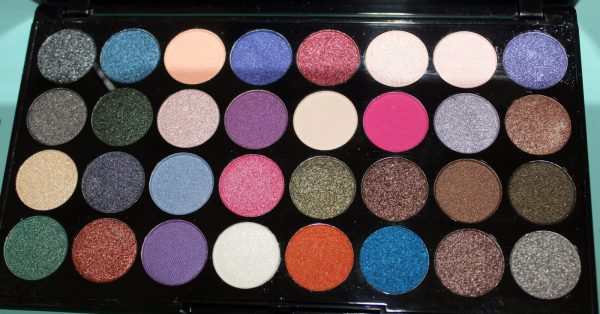 Makeup Revolution Ultra Eyeshadows