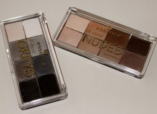 Essence All About Greys Eyeshadow Palette