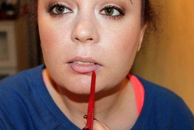 rimmel red lip