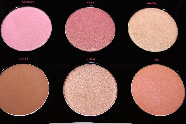Gwen Stefani blush swatches