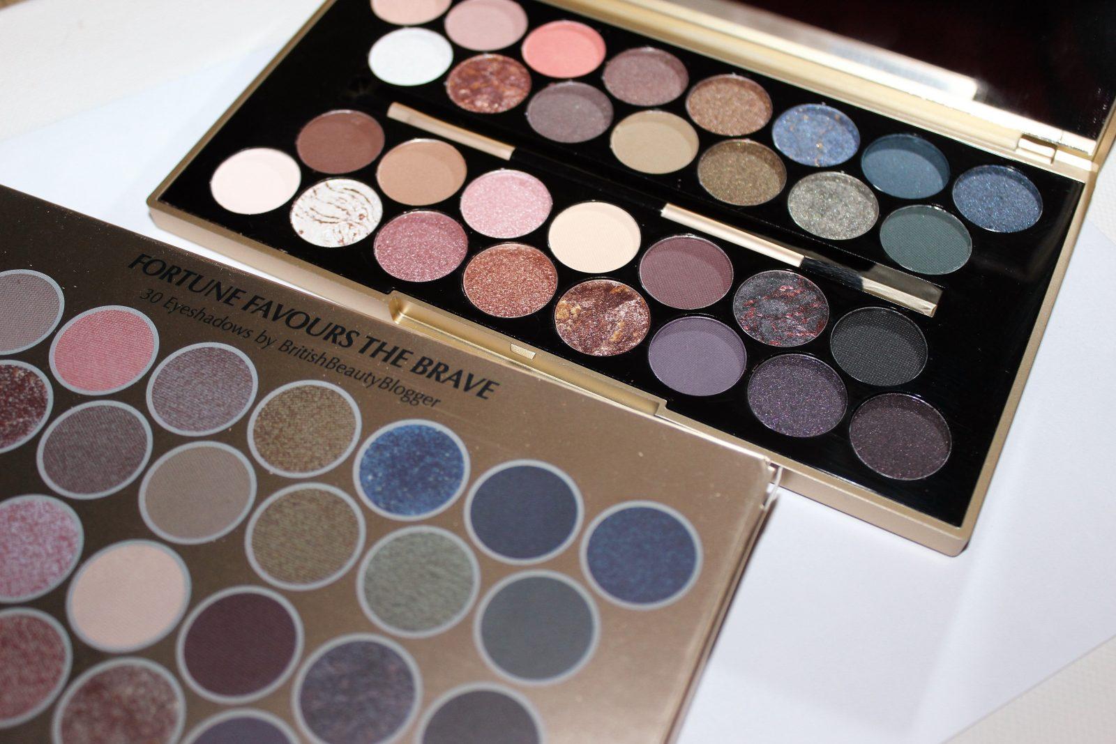 Makeup revolution london fortune favours the brave palette