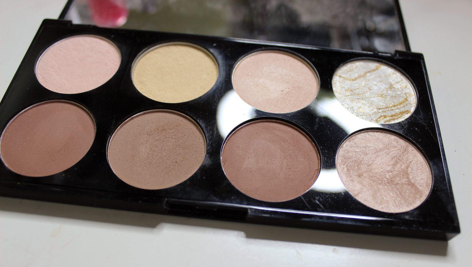 makeup revolution ultra contour palette irish beauty. Black Bedroom Furniture Sets. Home Design Ideas