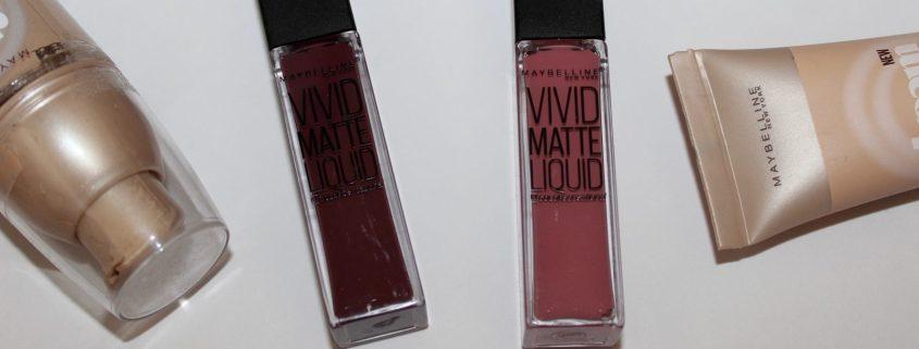 Maybelline Vivid Matte Liquid Lipsticks
