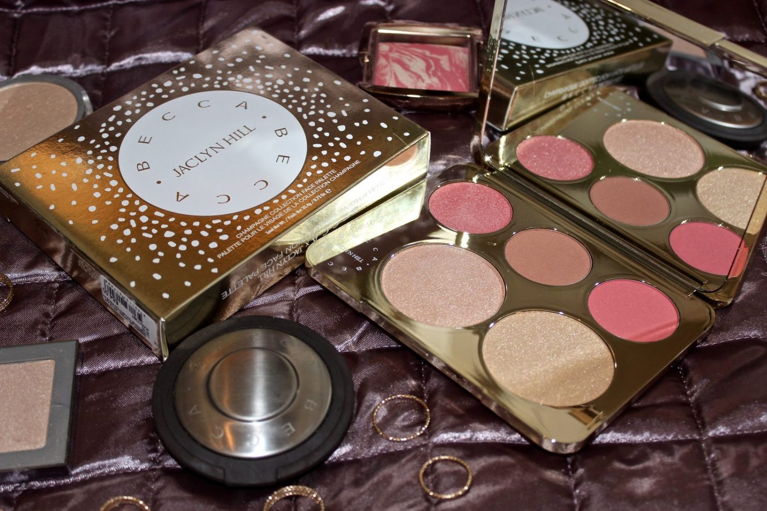 Becca Jaclyn Hill Champagne Collection Face Palette