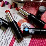seventeen mega matte lipsticks