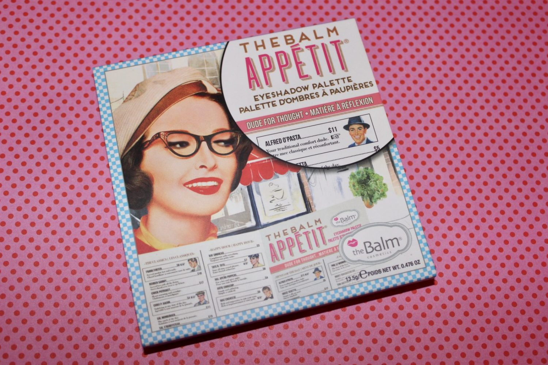 theBalm Appétit Eyeshadow Palette