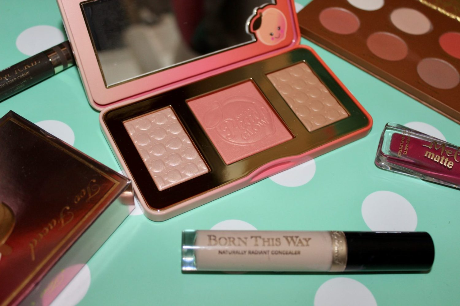 too faced sweet peach review