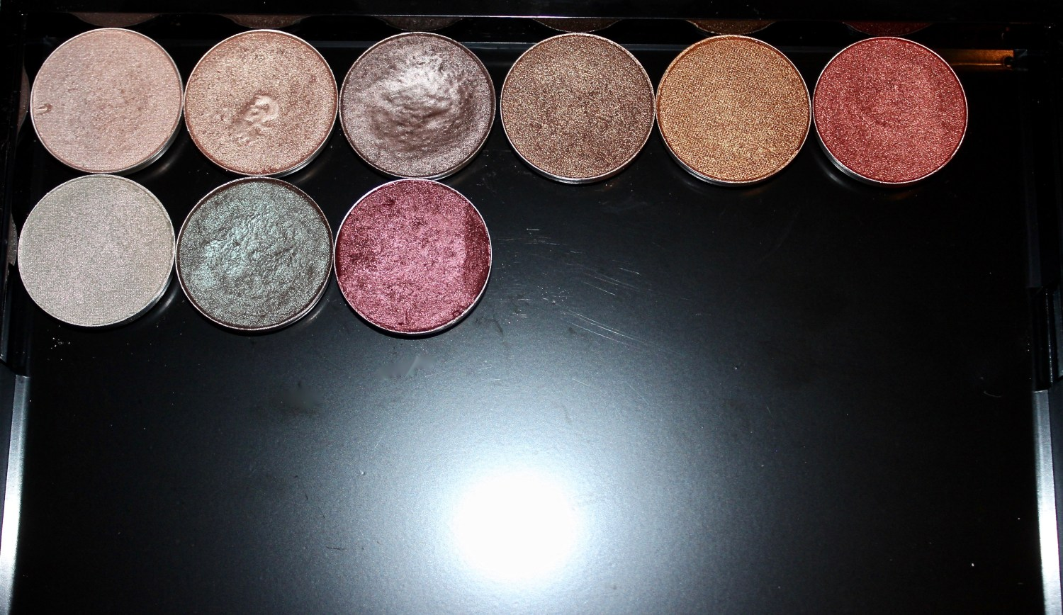 mac cosmetics eyeshadow pans
