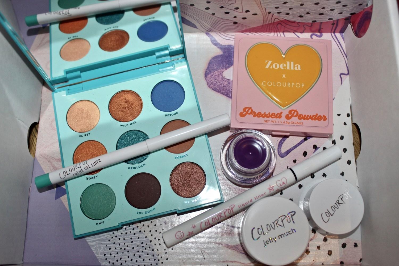 colourpop cosmetics haul