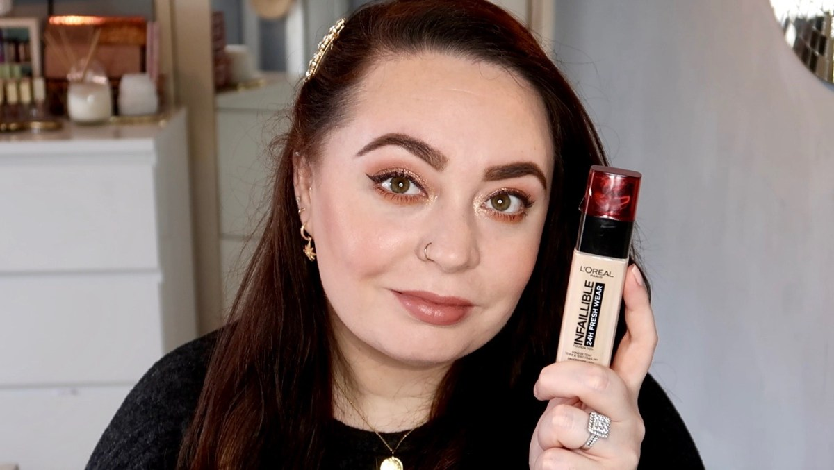 L'Oréal Infallible Fresh Wear Foundation Review