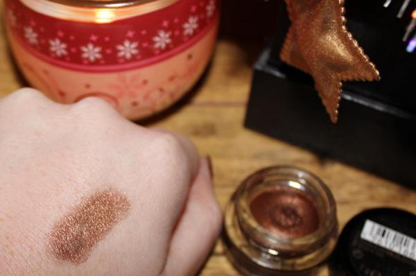 Max Factor excess shimmer bronze swatch