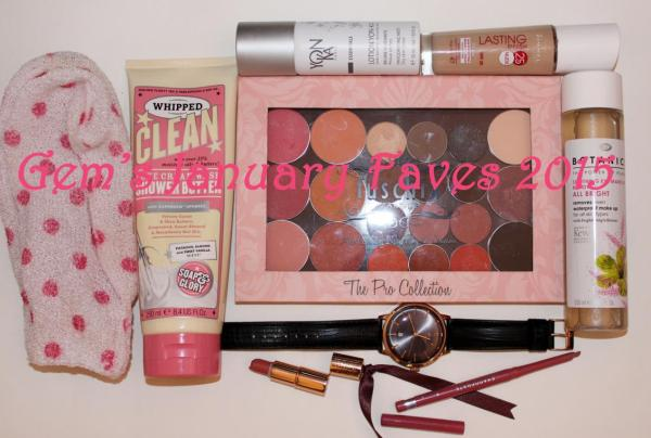 Gem's January Faves 2015
