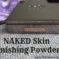 Urban Decay Naked Skin Finishing Powder: Review + Pictures