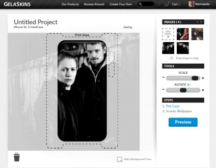 Creating Hardcase for iPhone 5