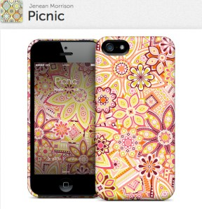 Picnic for iPhone 5 Hardcase