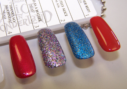 OPI Alice in Wonderland Swatches