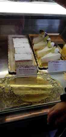 Budapest Fisherman's Bastion Ruszwurm Cake