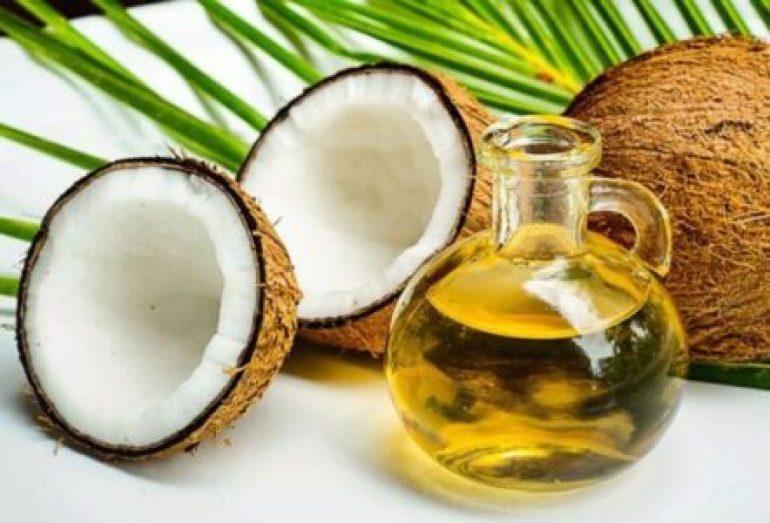 Coconut oil for lip