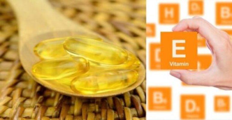 E vitamin for lip