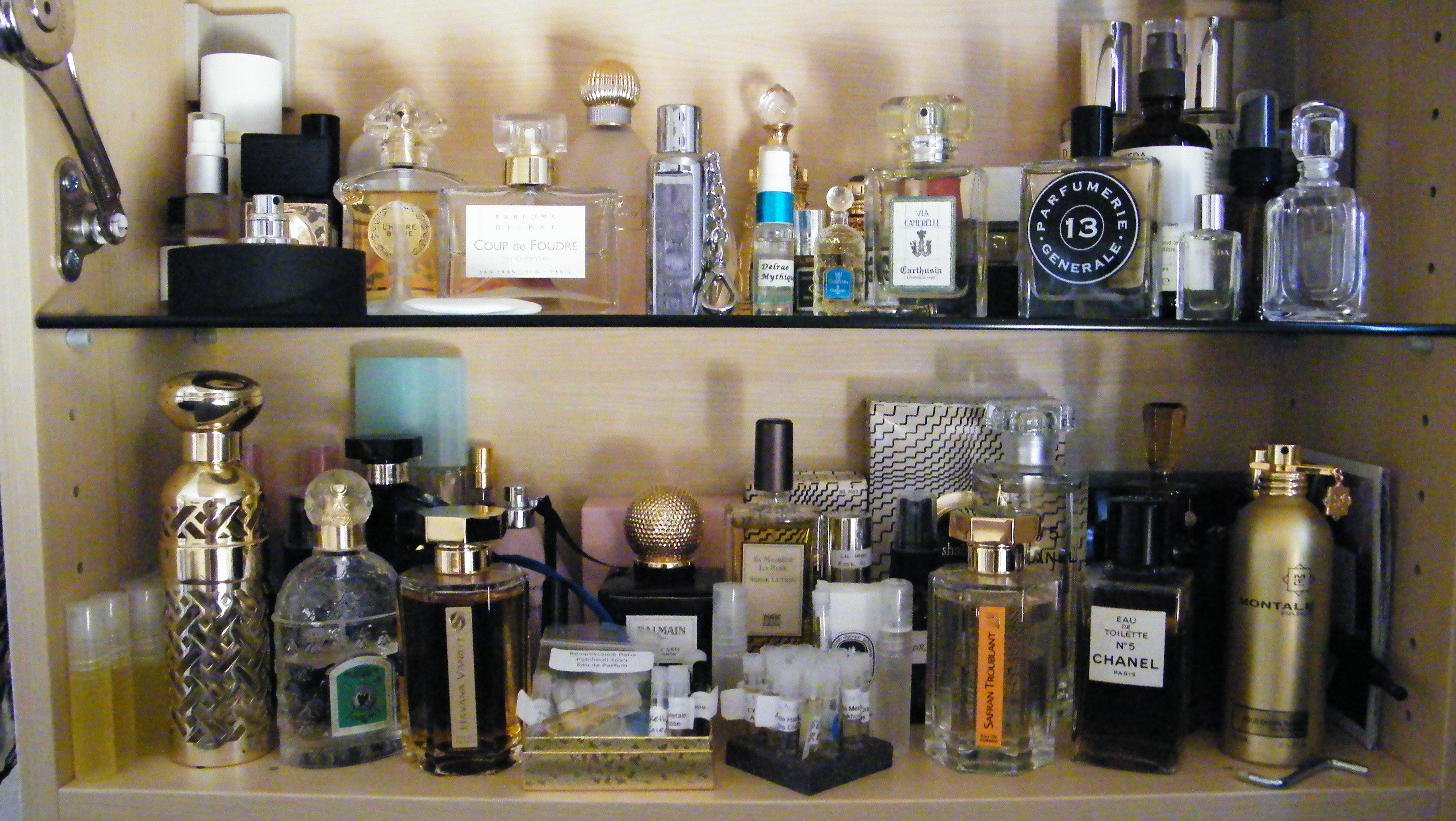Perfume Cabinet  beauty on the outside