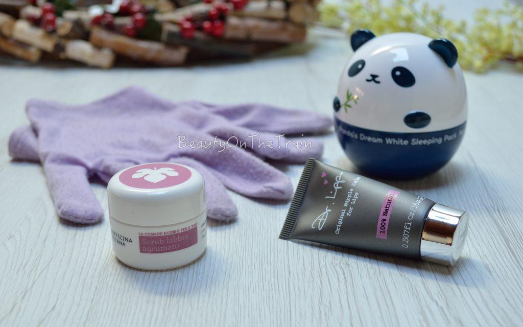 prodotti per la cura del corpo in inverno