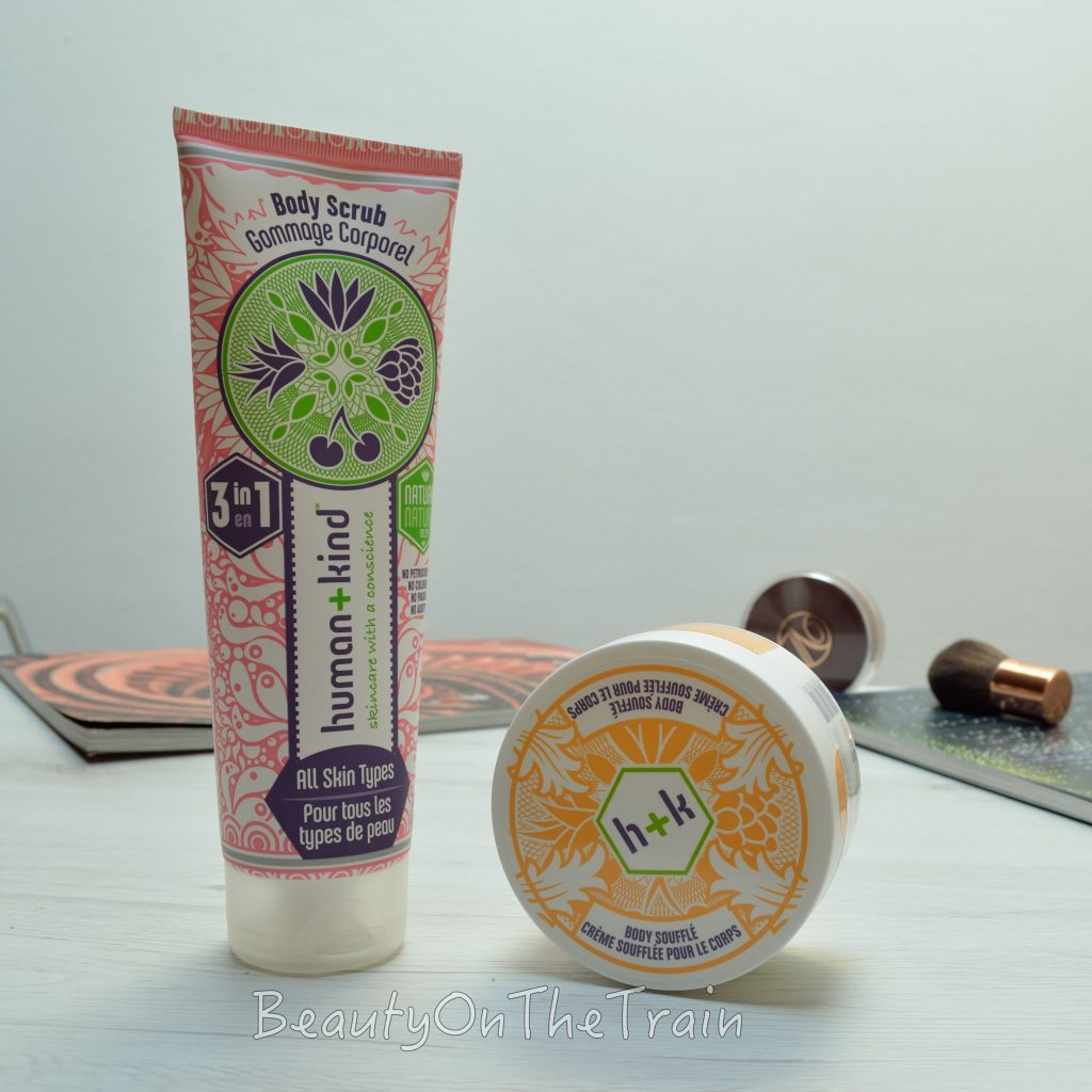 human and kind scrub e crema corpo