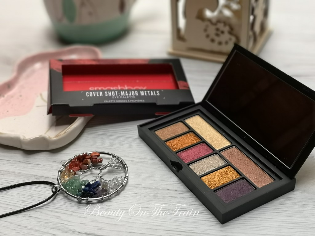 swatch palette Smashbox Cover Shot Major Metals
